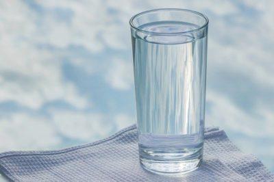 в стакане